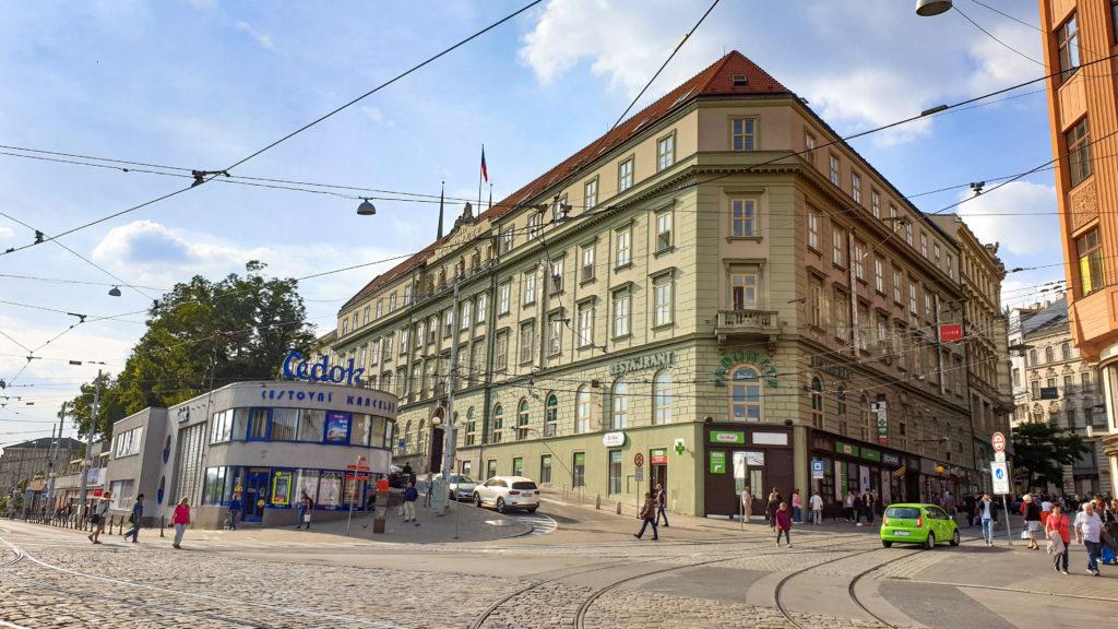Palác Padowetz - Brno