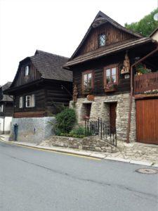 Štramberk - dřevěné budovy