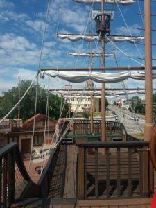 Loď - Kovozoo u Uherského Hradiště