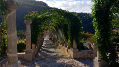Jardins d'Alfabia - vodotrysk na tlačítko