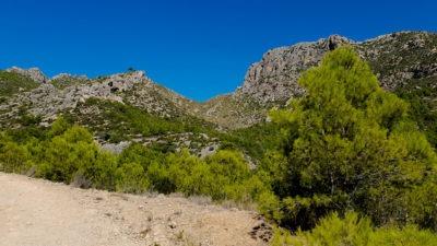 Serra de Tramuntana - cesta na La Trapa