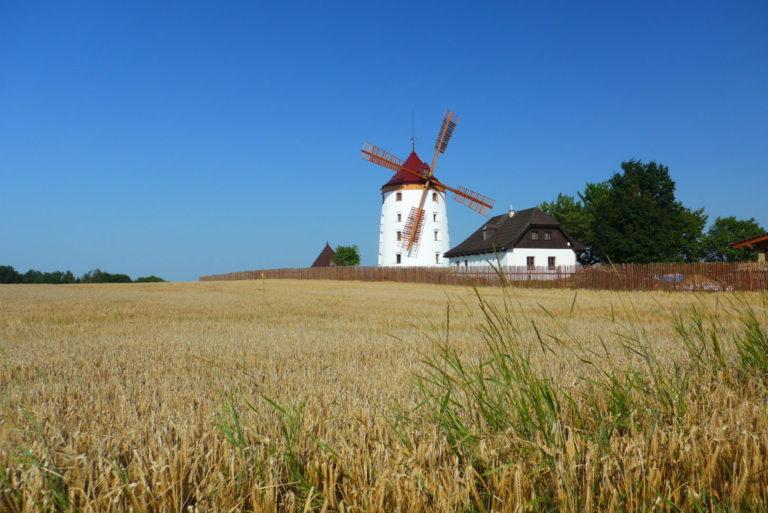 Větrný mlýn Vrátno
