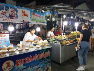 Phu Quoc - noční trh