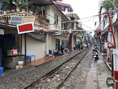 Severní Vietnam - Hanoi Train Street