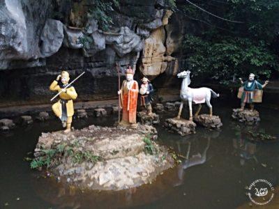 """Severní Vietnam - Postavy z čínského seriálu """"Opičí král"""""""
