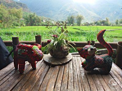 Severní Vietnam - Suvenýry z Mai Chau