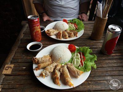 Oběd v Mai Chau