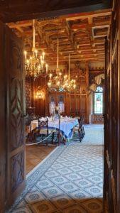 Velká jídelna zámku Sychrov
