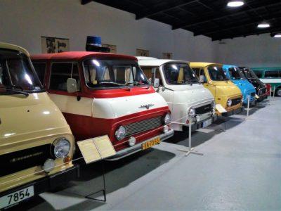 Škoda 1203 - Retro automuzeum Strnadice