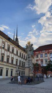 Zelný trh Brno - Sloup nejsvětější trojice