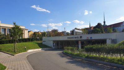 Parkovací dům Janáčkovo divadlo