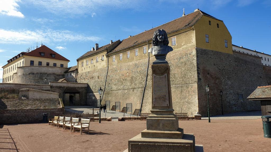 Brno, park Špilberk - Louis Raduit de Souches
