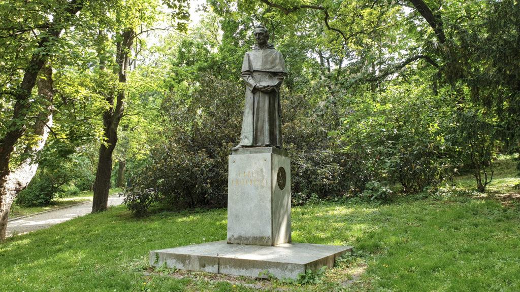 Brno, park Špilberk - Pavel Křížkovský