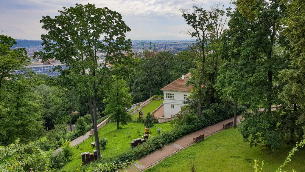 Brno, park Špilberk - Centrum ekologické výchovy Hlídka