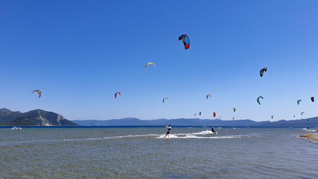 Neretva, kiteboarding