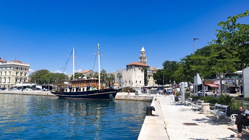 Přístav Split, Chorvatsko