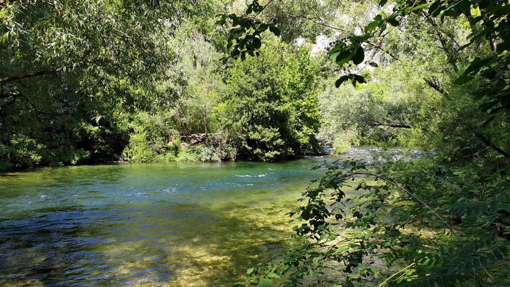 Řeka Cetina, Chorvatsko