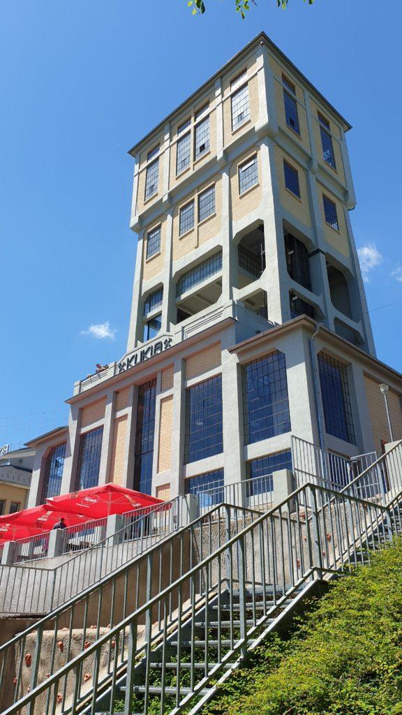 Těžní věž Kukla