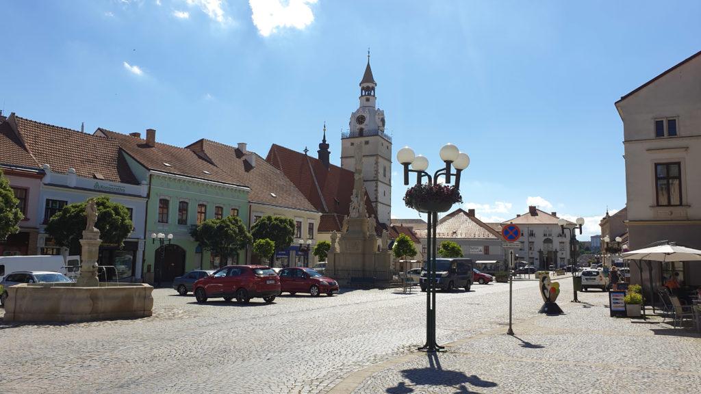 Ivančice - pohled na náměstí