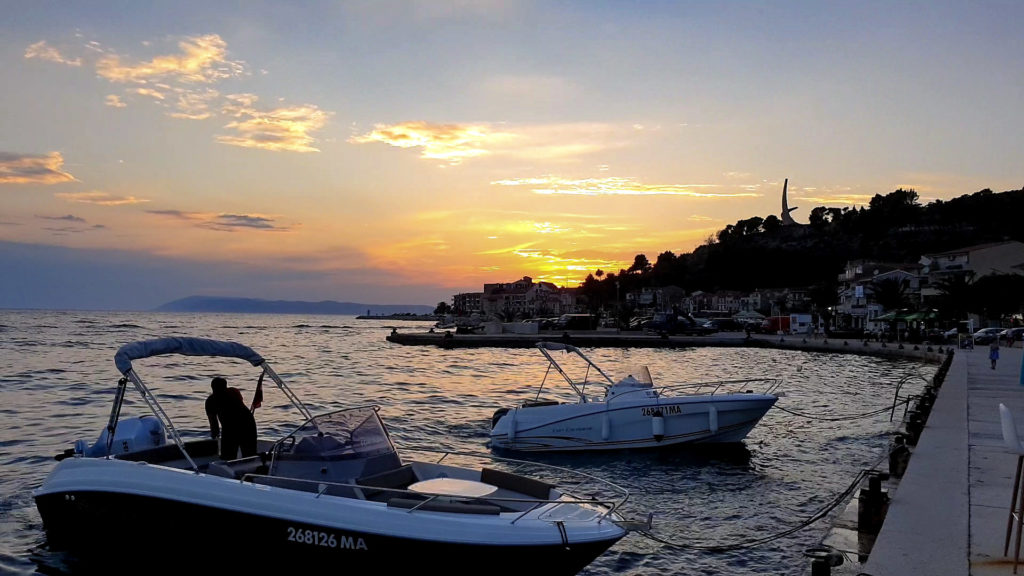 Přístav Podgora, Chorvatsko