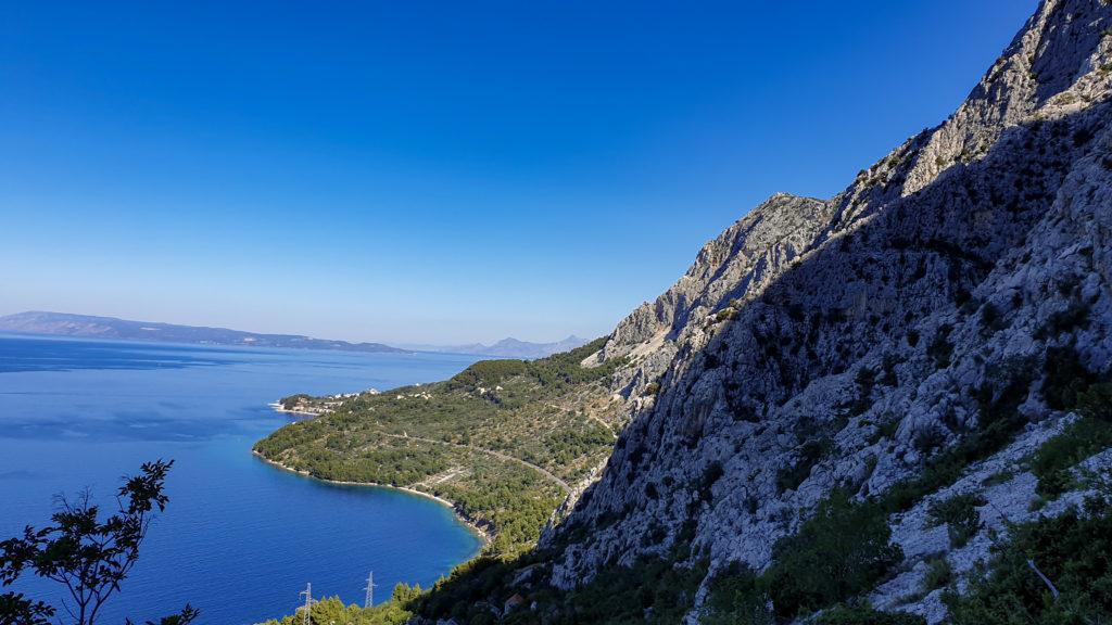 Vyhlídka nad Drašnící, Chorvatsko