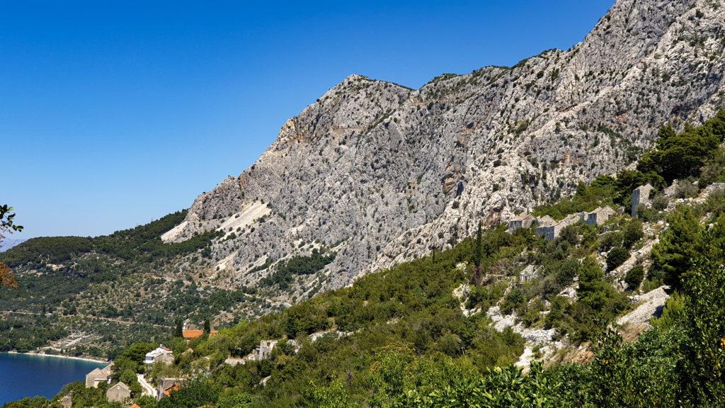 Biokovo nad Drašnictví, Chorvatsko