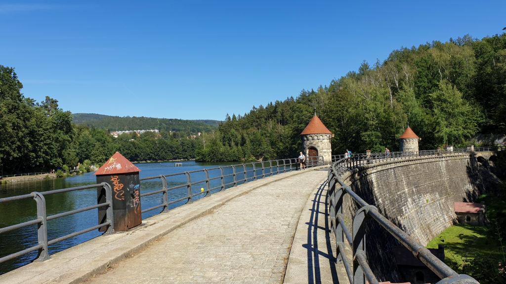 Liberec, Vodní nádrž Harcov