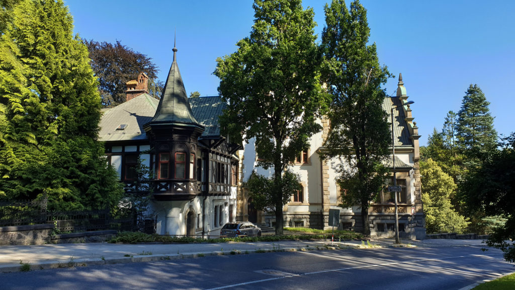 Liberec, Liebigova vila