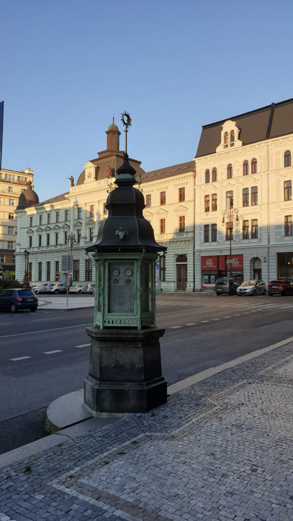 Liberec, Meteo sloupek