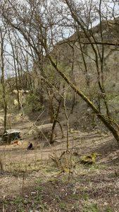 Kobylí, Kobylská skála a jedno z tábořišť