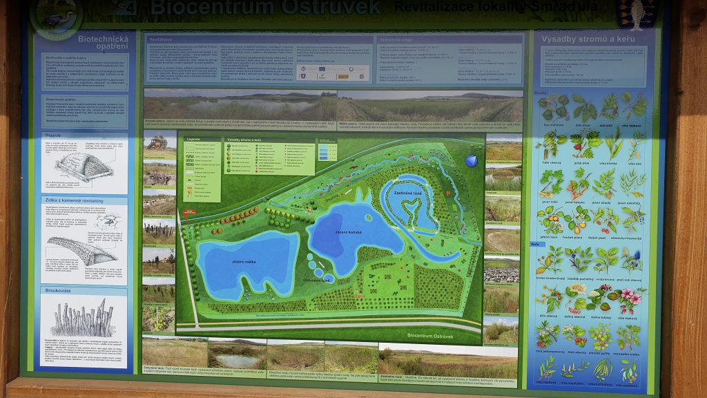 Kobylí, Biocentrum Ostrůvek - panel NS