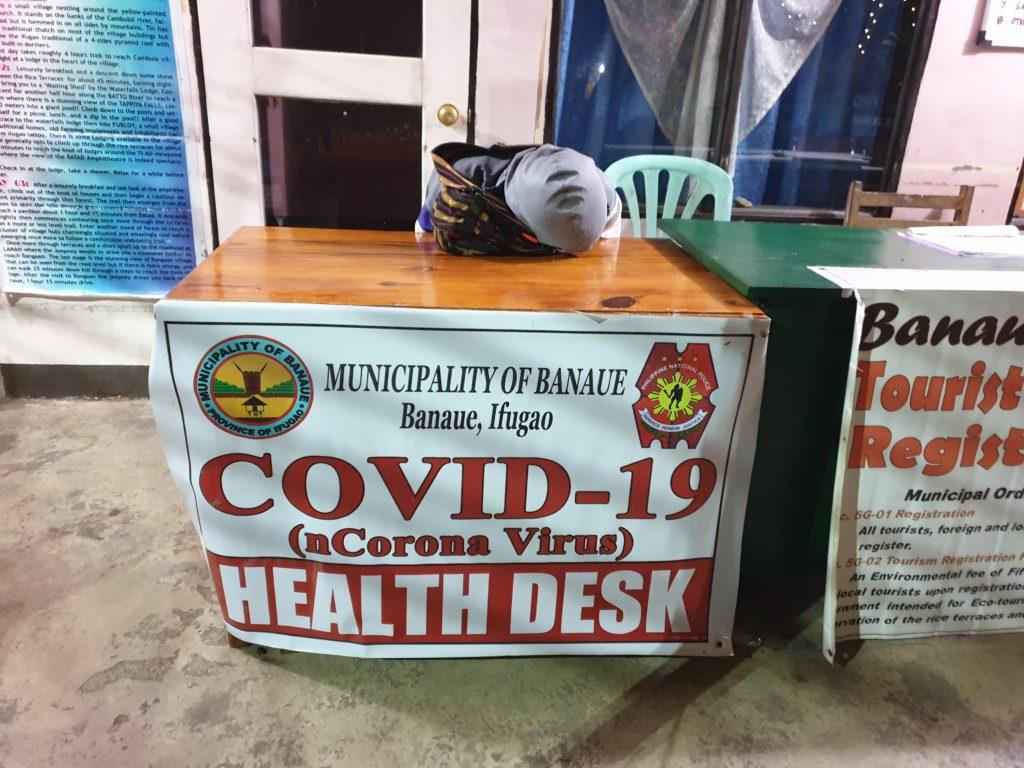 Covid 19 - health desk