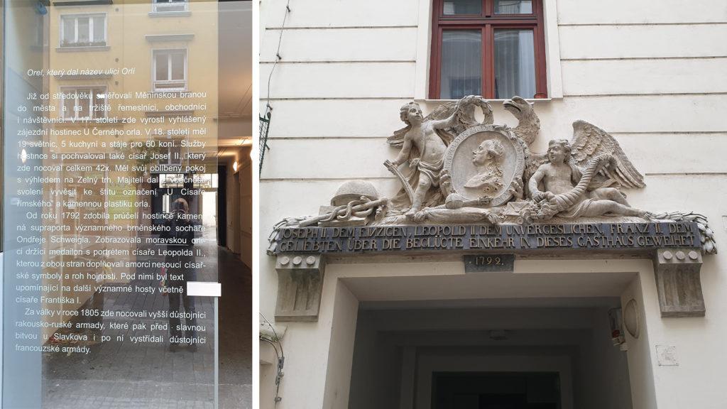 Brno, Černý orel