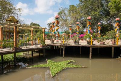 Délta Mekongu - ostrovy
