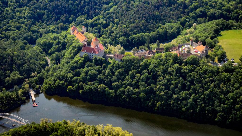 Brněnská přehrada - Hrad Veveří