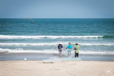 Střední Vietnam, Danang - rybáři