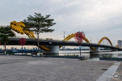 Střední Vietnam - Danang - Dračí most