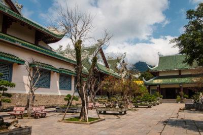 Střední Vietnam - Danang - Tháp Xá Lợi a Tượng Phật