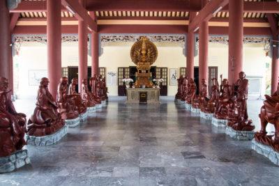 Střední Vietnam - Danang - buddhistický komplex
