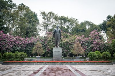Severní Vietnam - Hanoj - Park V.I. Lenina