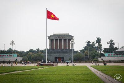 Severní Vietnam - Hanoj - Ho Chi Minhovo mauzoleum