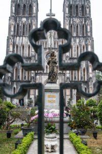 Severní Vietnam - Hanoj - Kostel sv. Josefa