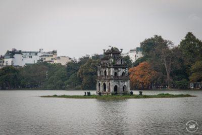 Severní Vietnam - Hanoj - Želví věž