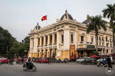 Severní Vietnam - Hanojská opera