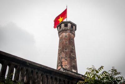 Severní Vietnam - Hanoj - Flag Tower