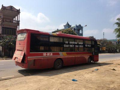 Fotografie Vietnam, autobus