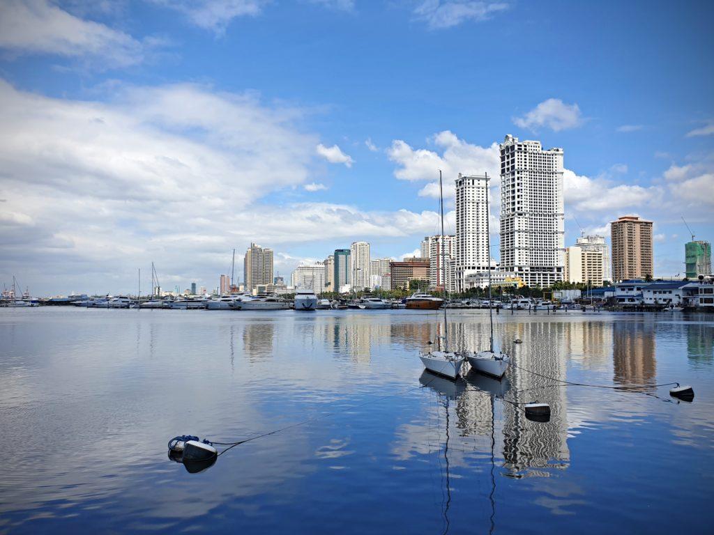 Manila - záliv a přístav