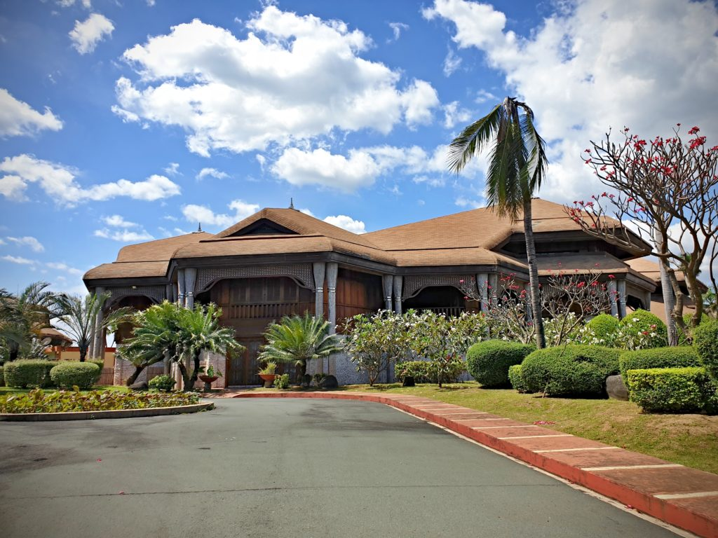 Manila - Kokosový dům