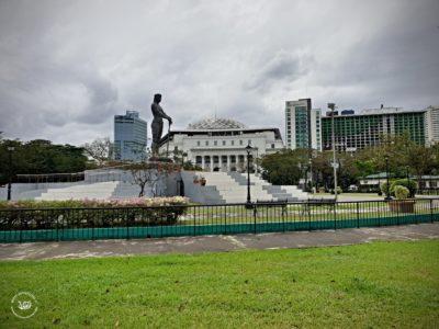 Rizal park - socha Lapu-Lapu