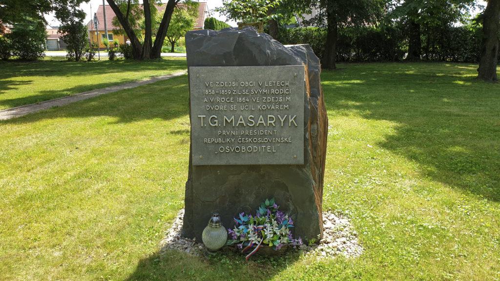 T. G. Masaryk - pamětní deska